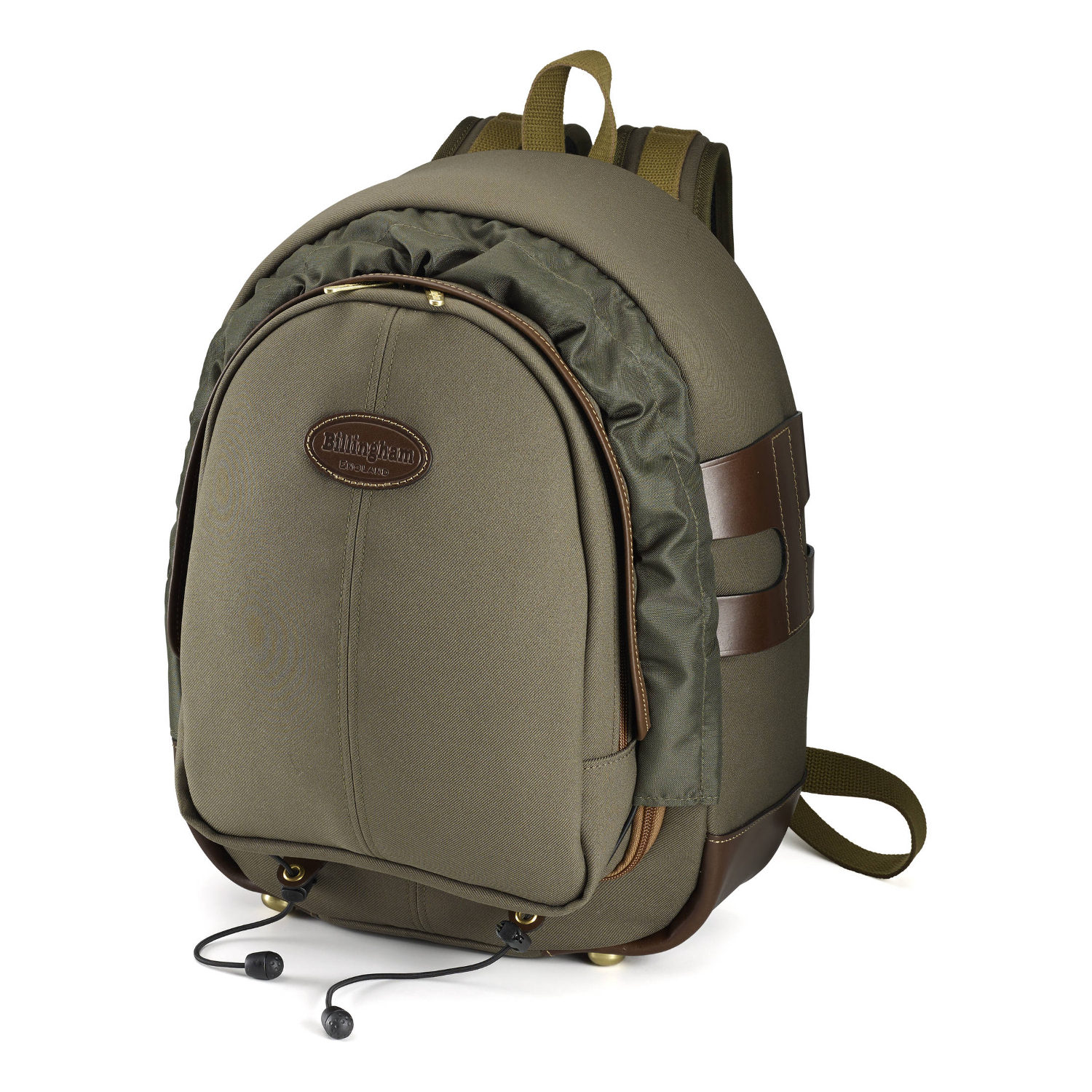 Foto van Billingham 25 Backpack Sage Fibrenyte/Chocolate