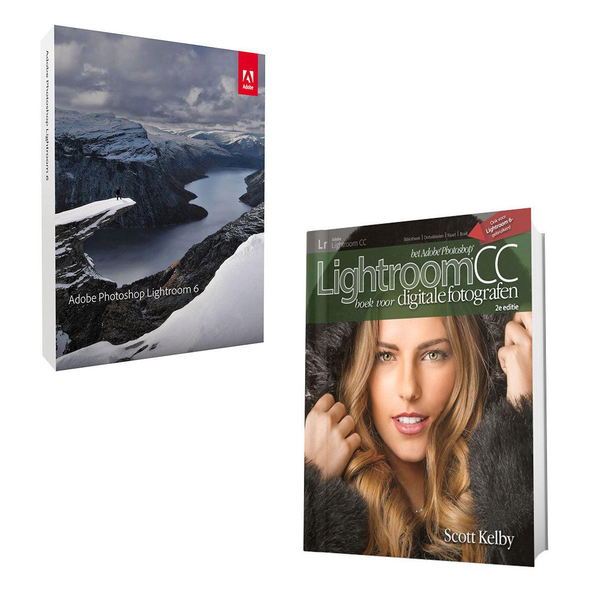 Foto van Adobe Photoshop Lightroom 6 NL Mac / Windows + Het Adobe Photoshop Lightroom CC boek voor digitale fotografen, 2e editie