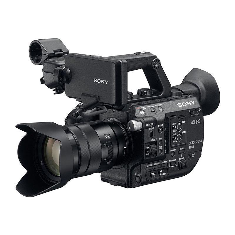 Foto van Sony PXW-FS5 4K videocamera + 18-105mm G PZ SET - Verhuur