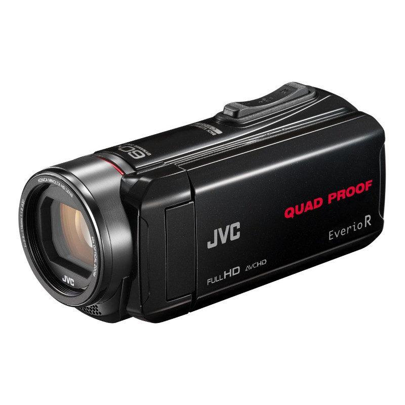 Foto van JVC GZ-R435 videocamera Zwart