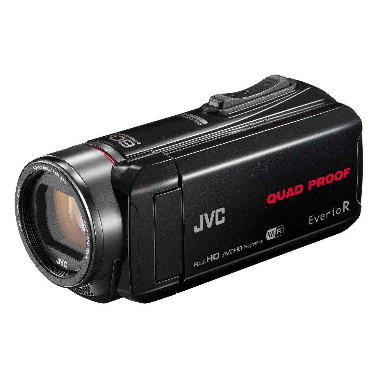 Foto van JVC GZ-RX645 videocamera Zwart