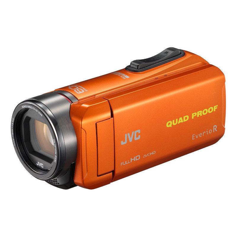 Foto van JVC GZ-R435 videocamera Oranje