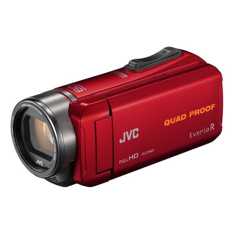 Foto van JVC GZ-R435 videocamera Rood