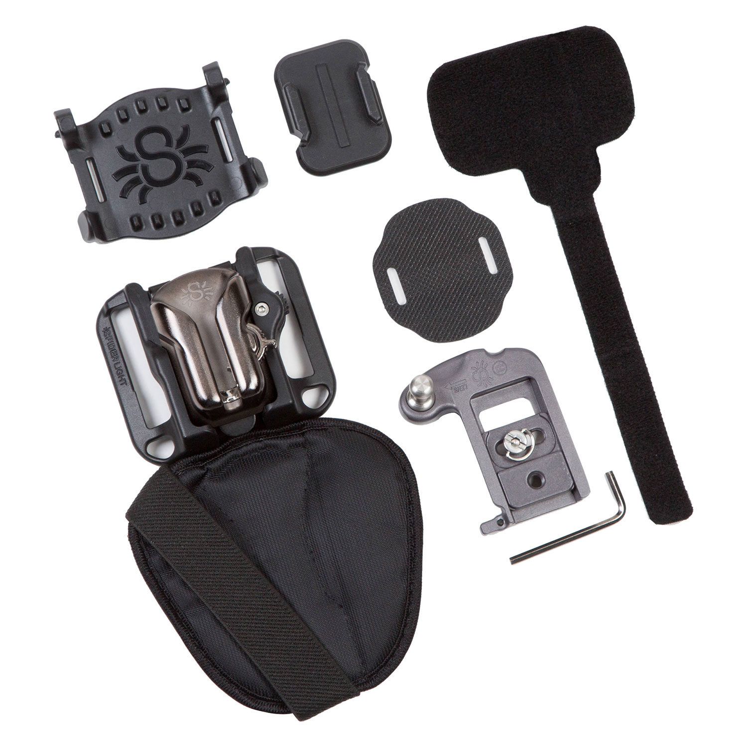 Foto van Spider Camera Holster SpiderLight BackPacker Kit met holster, plate en pin