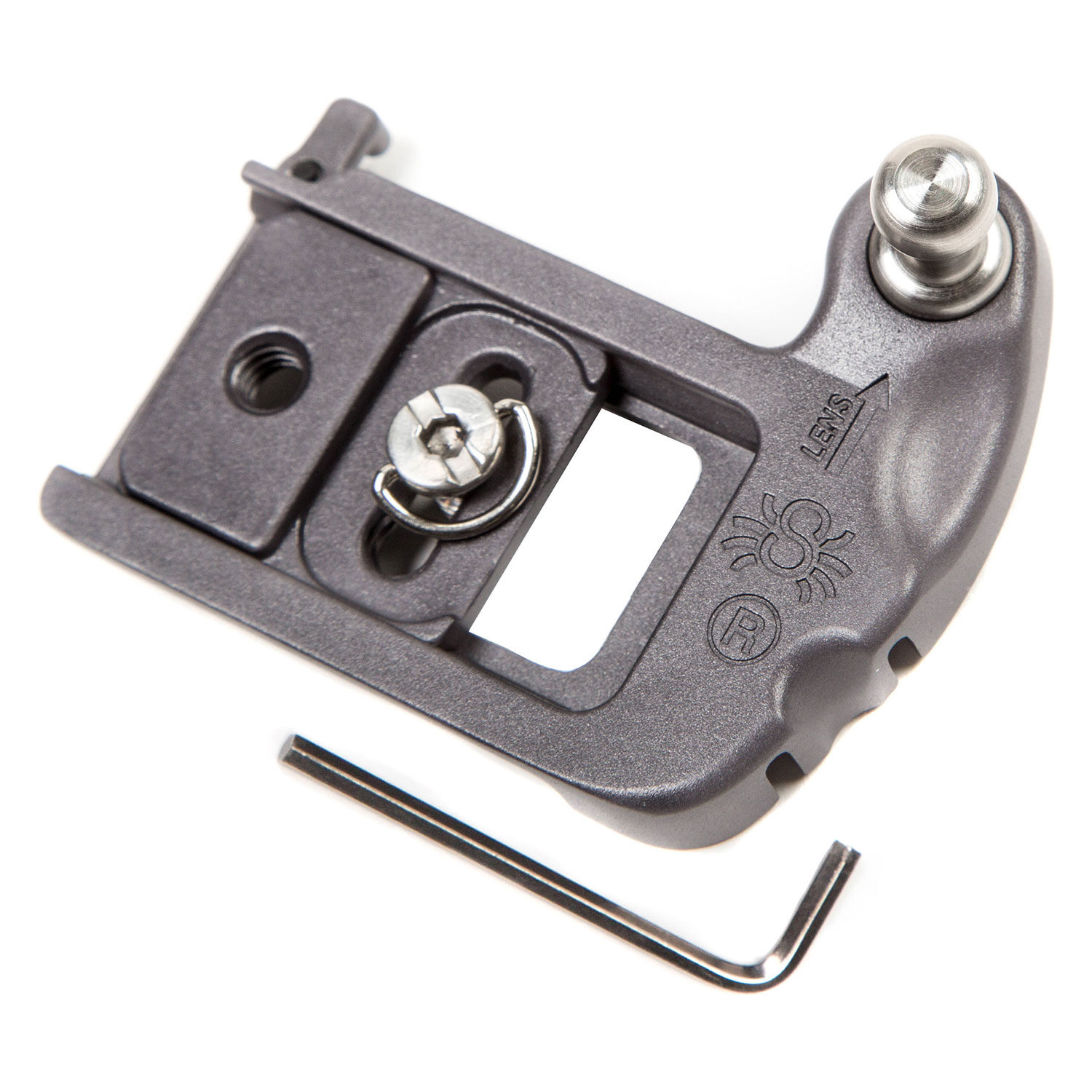 Foto van Spider Camera Holster Plate met Pin voor SpiderLight Holster