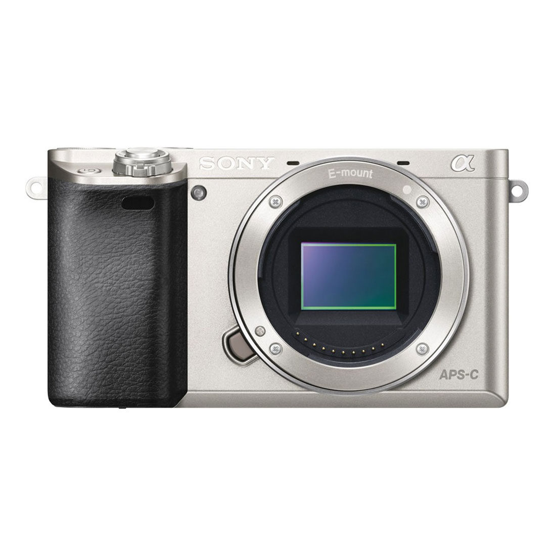 Sony Alpha A6000 ICL systeemcamera Body Zilver