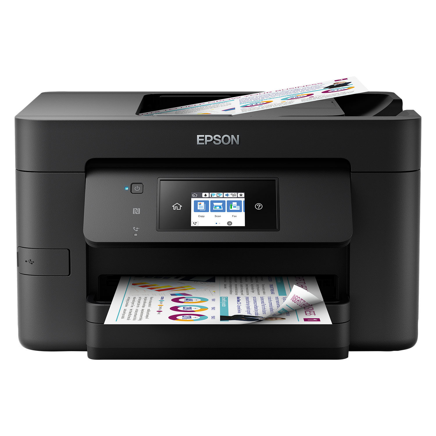 Epson Multifunctional WorkForce Pro WF-4720DWF 4 in 1, Netwerk, WiFi, ADF