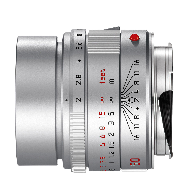 Foto van Leica APO-Summicron-M 50mm f/2.0 ASPH objectief Zilver