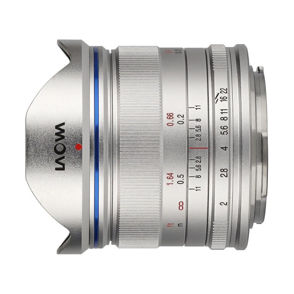 Laowa 7.5mm f/2.0 Lightweight Micro FT objectief Zilver met korting