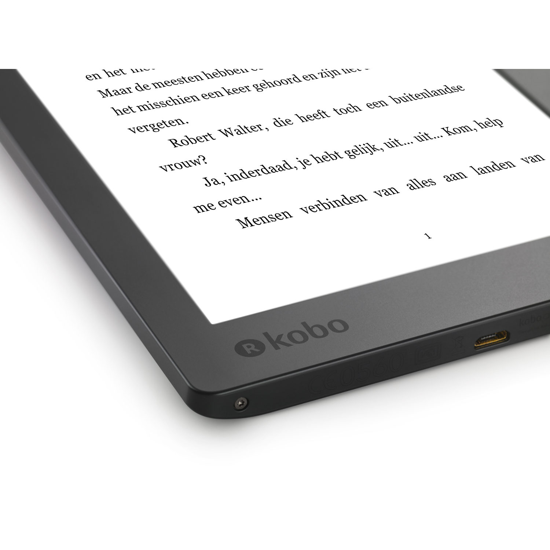 Kobo Aura H2O NEW e-reader Zwart kopen? | CameraNU.nl