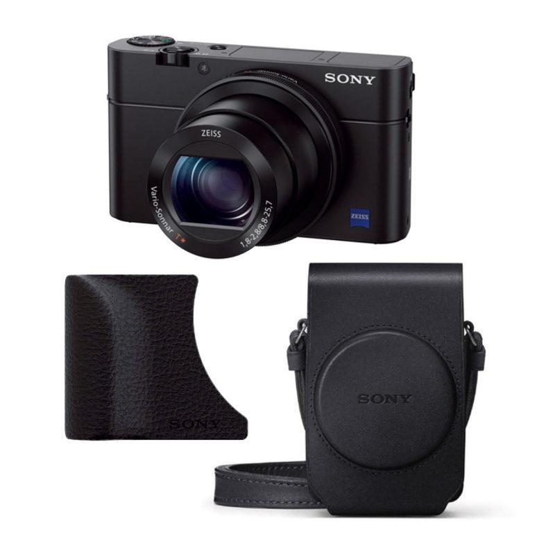 Sony Cybershot DSC-RX100 III compact camera Premium Kit met korting