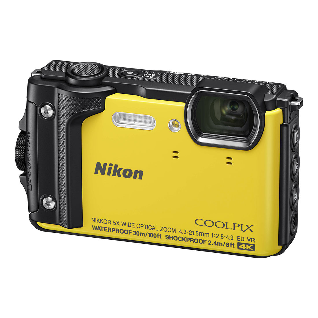 Nikon Coolpix W300 compact camera Geel