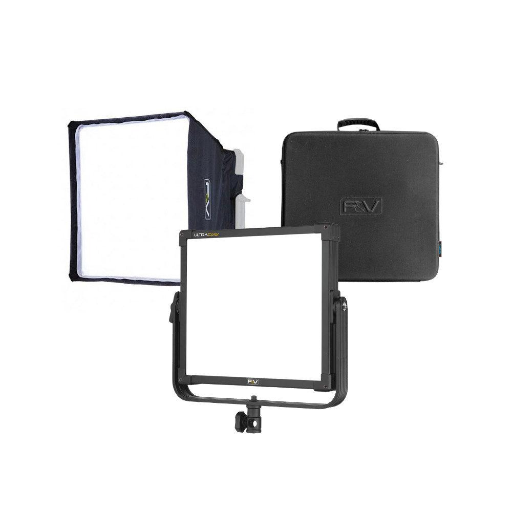 Foto van F&V UltraColor Z400S Soft Bi-Color Studio Panel Premium Kit