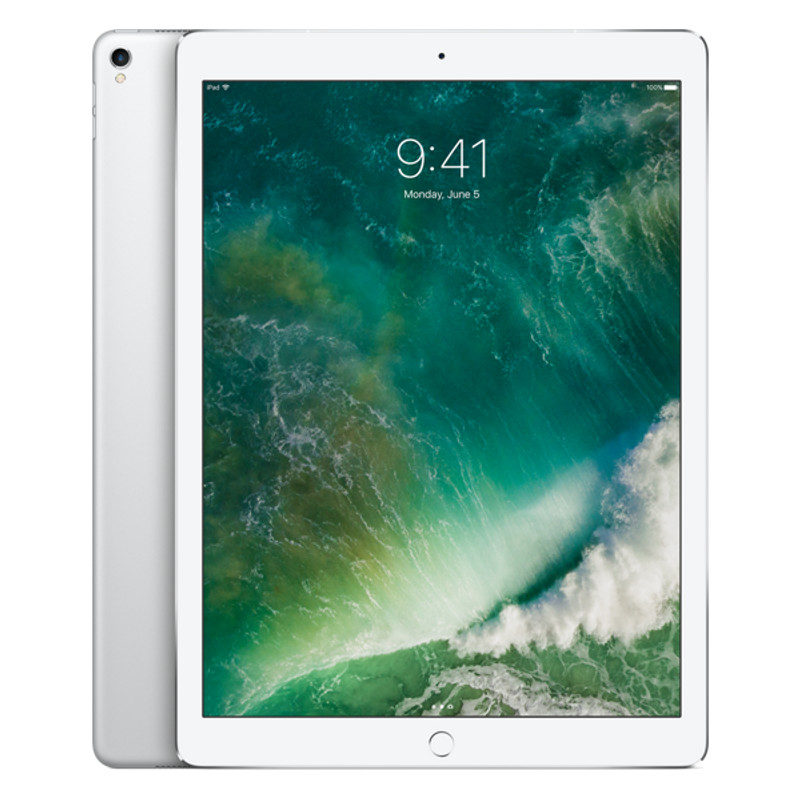 Foto van Apple iPad Pro 256GB 12.9 inch Wifi + 4G Silver (MPA52NF/A)