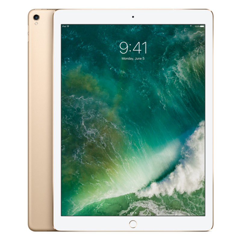 Foto van Apple iPad Pro 256GB 12.9 inch Wifi + 4G Gold (MPA62NF/A)