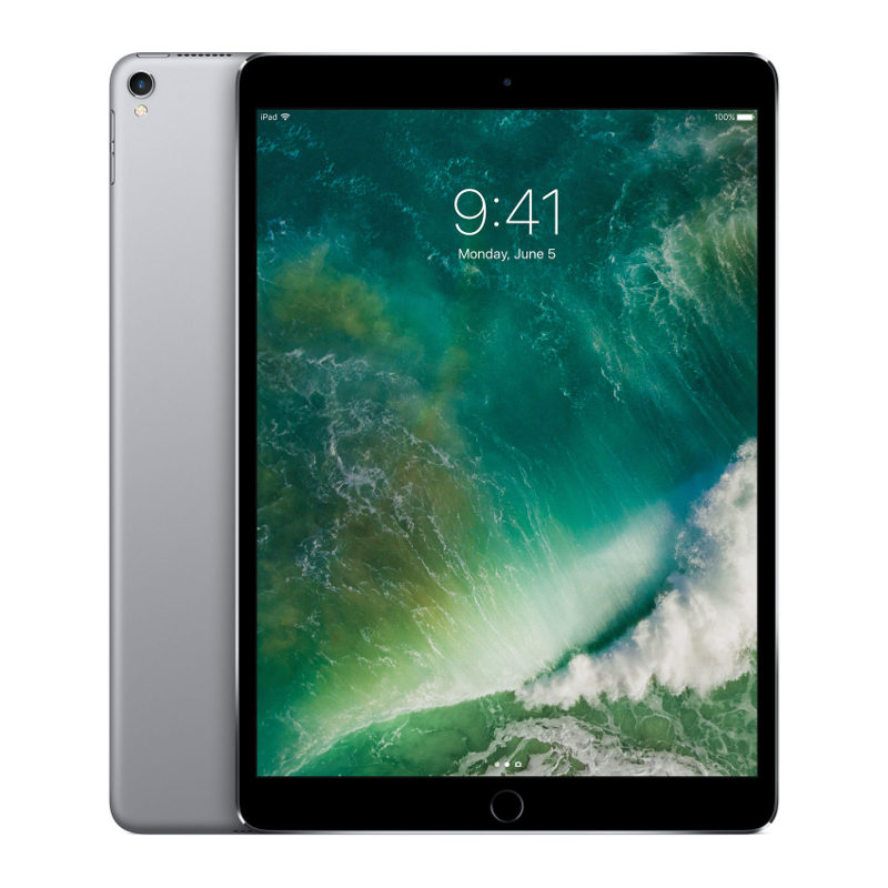Foto van Apple iPad Pro 256GB 10.5 inch Wifi + 4G Space Grey (MPHG2NF/A)