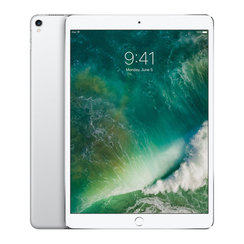 Foto van Apple iPad Pro 256GB 10.5 inch Wifi + 4G Silver (MPHH2NF/A)