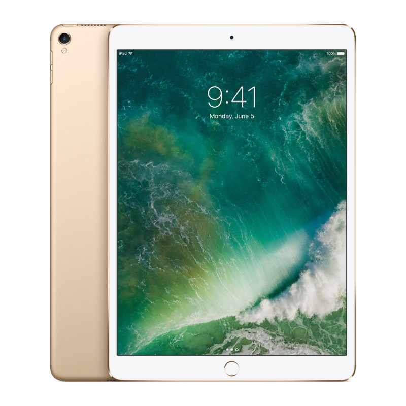 Foto van Apple iPad Pro 256GB 10.5 inch Wifi + 4G Gold (MPHJ2NF/A)