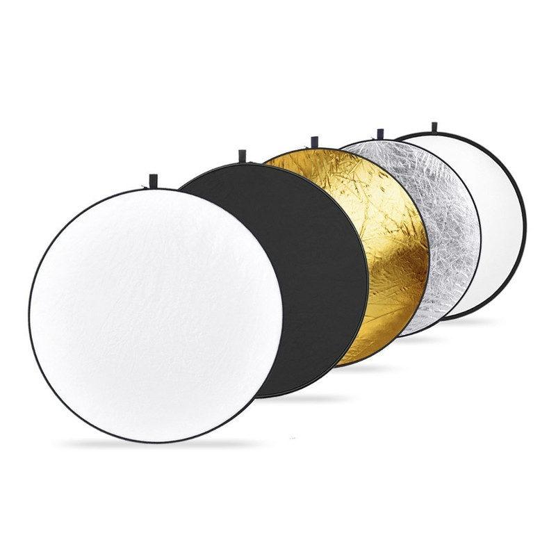 Afbeelding van Caruba 5 in 1 Gold, Silver, Black, White, Translucent 107cm