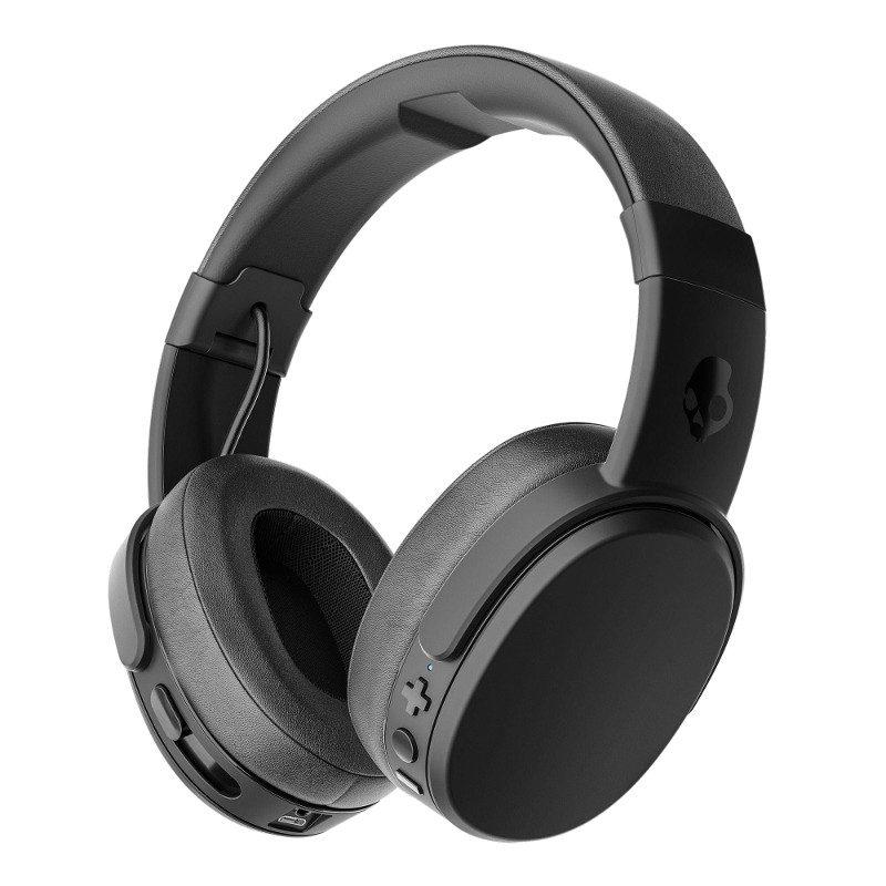 Foto van Skullcandy Crusher Wireless Black/Coral Over-Ear koptelefoon