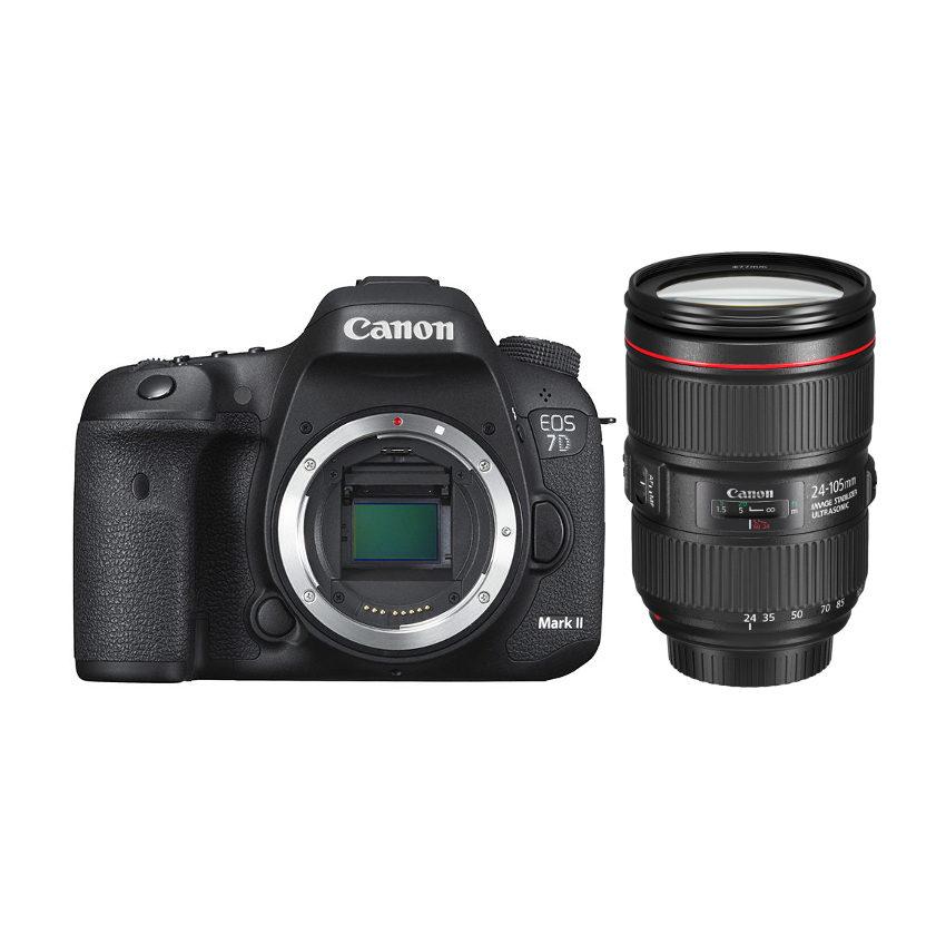 Canon EOS 7D Mark II DSLR + 24-105mm f/4.0L IS II USM <br/>€ 2199.00 <br/> <a href='https://www.cameranu.nl/fotografie/?tt=12190_474631_241358_&r=https%3A%2F%2Fwww.cameranu.nl%2Fnl%2Fp593665%2Fcanon-eos-7d-mark-ii-dslr-24-105mm-f-4-0l-is-ii-usm%3Fchannable%3De10841.NTkzNjY1%26utm_campaign%3D%26utm_content%3DEOS%2Bspiegelreflex%26utm_source%3DTradetracker%26utm_medium%3Dcpc%26utm_term%3DDigitale%2Bcamera%26apos%3Bs' target='_blank'>naar de winkel</a>