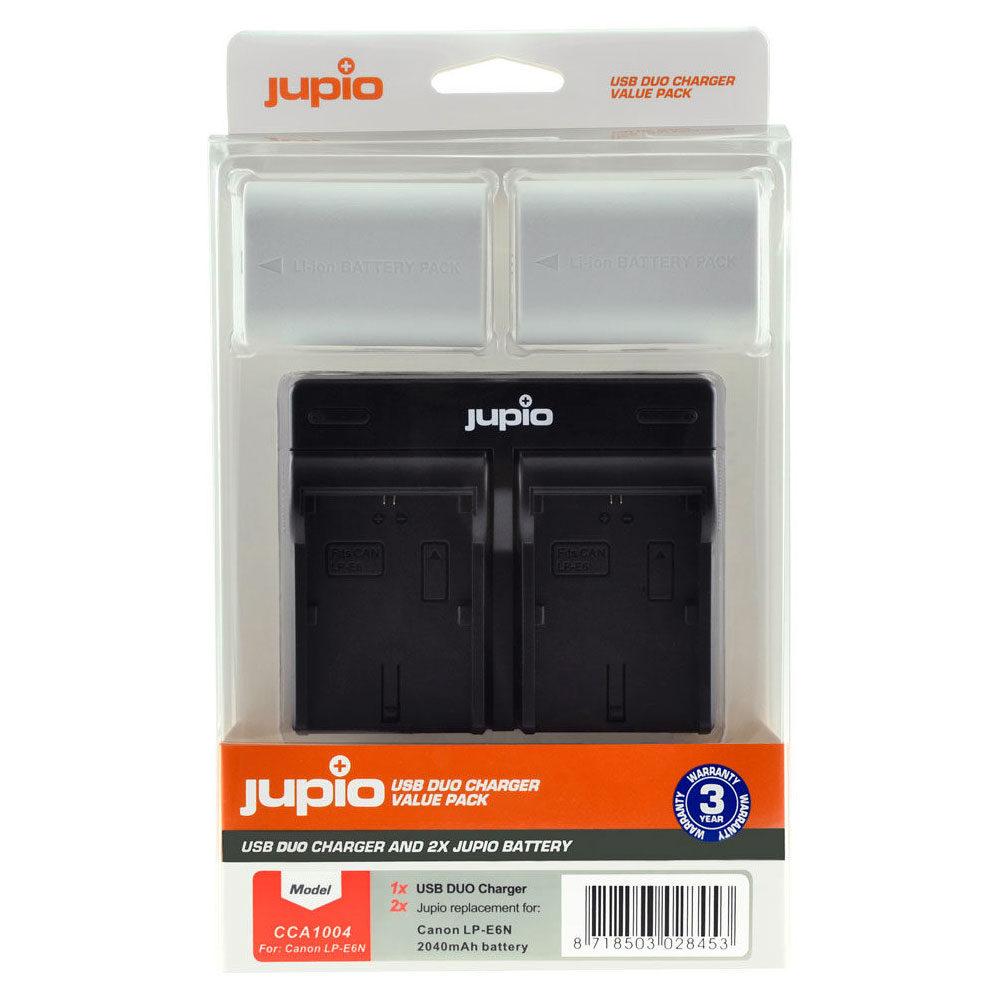 Foto van Canon LP-E6N USB Duo Charger Kit (Merk Jupio)