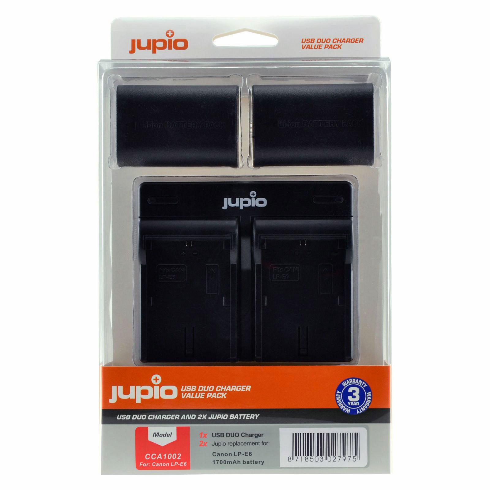 Foto van Canon LP-E6 USB Duo Charger Kit (Merk Jupio)