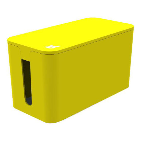 Afbeelding van Bluelounge Cablebox Mini Yellow