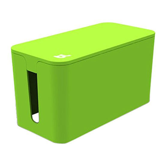 Afbeelding van Bluelounge CableBox Mini Green