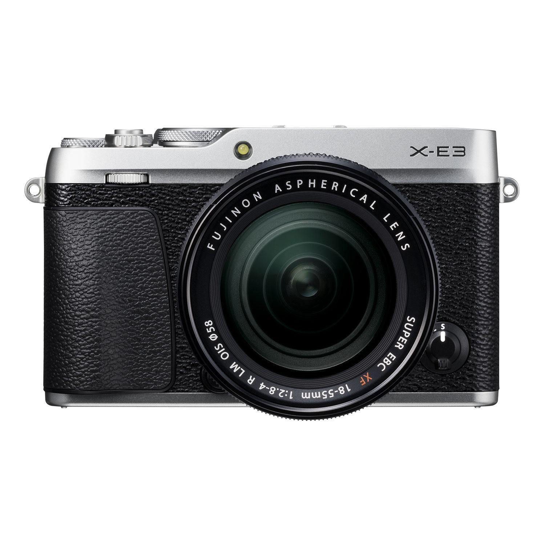 Fujifilm X-E3 systeemcamera Zilver + 18-55mm f-2.8-4.0