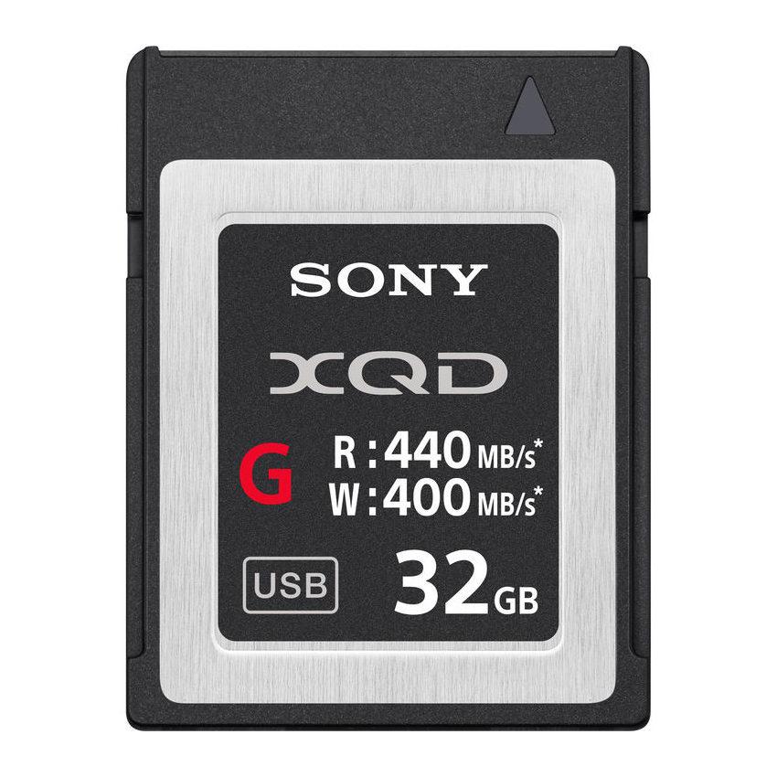 Sony 32GB 440MB/s G-series High Speed XQD-kaart met korting
