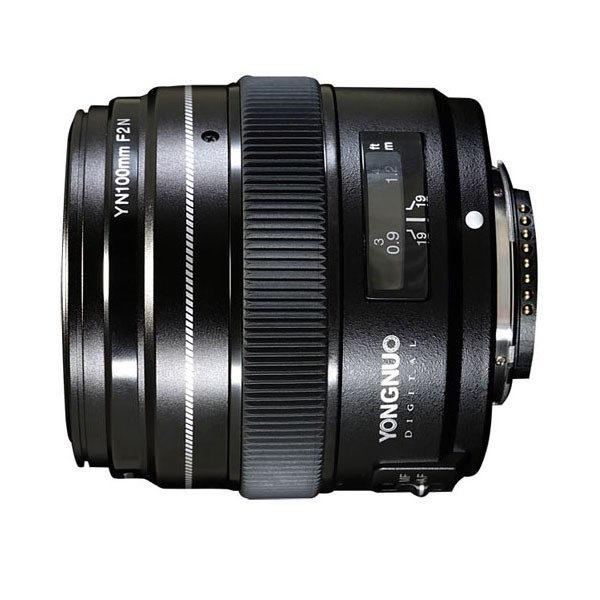 Yongnuo YN 100mm f/2.0 Nikon objectief met korting
