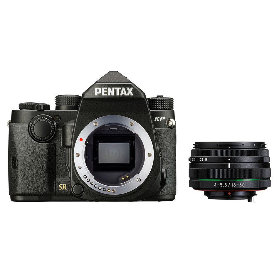 Pentax KP DSLR Zwart + 18-50mm