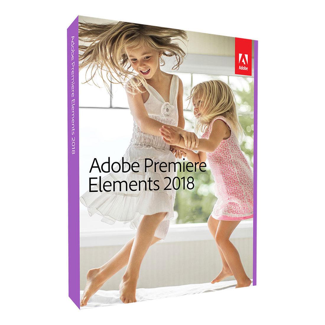 Afbeelding van Adobe Premiere Elements 2018 UK Mac/Windows