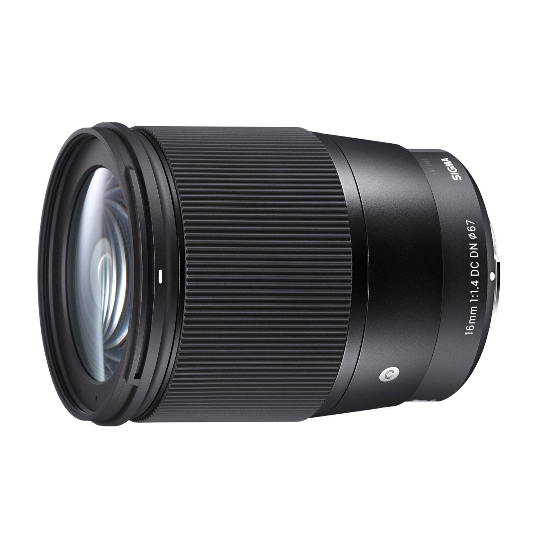 Sigma 16mm f/1.4 DC DN Contemporary Sony E-mount objectief