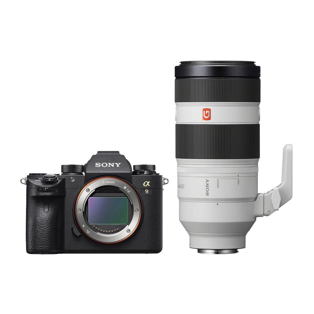 Sony Alpha A9 systeemcamera + 100-400mm f/4.5-5.6 OSS