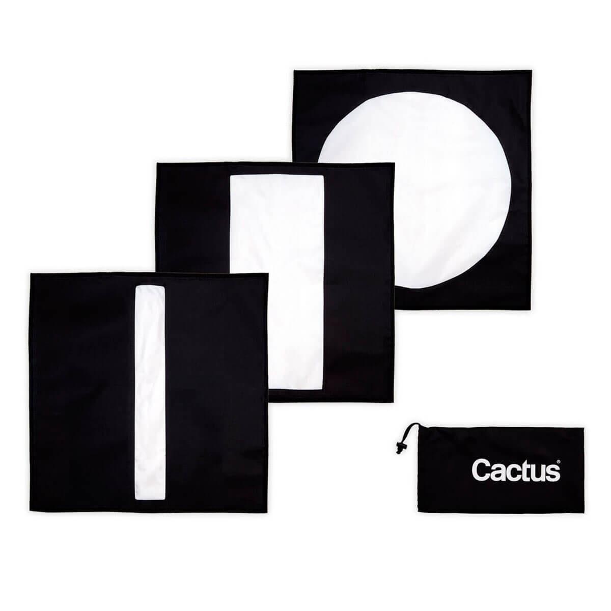 Afbeelding van Cactus CM 60 Softbox Mask Set