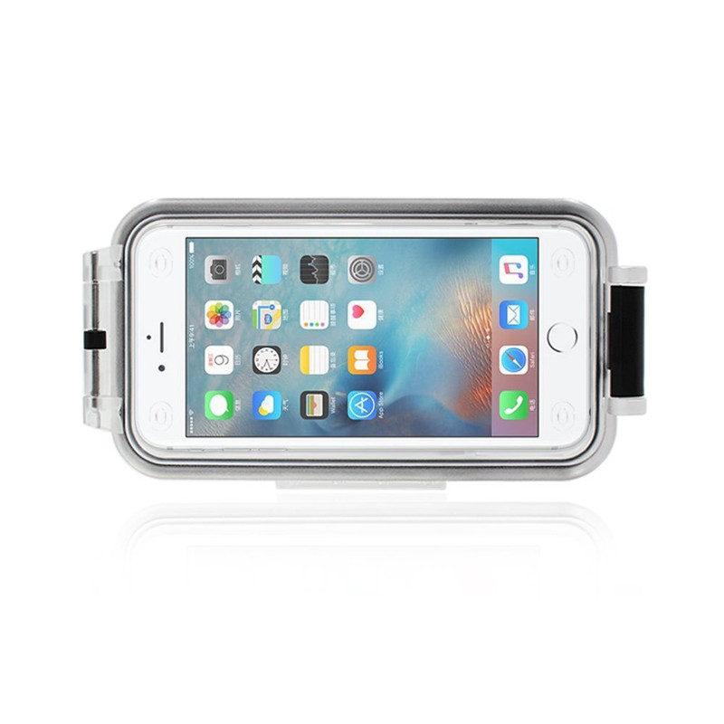 Pixco Bluetooth Waterproof Smartphone Case Zwart