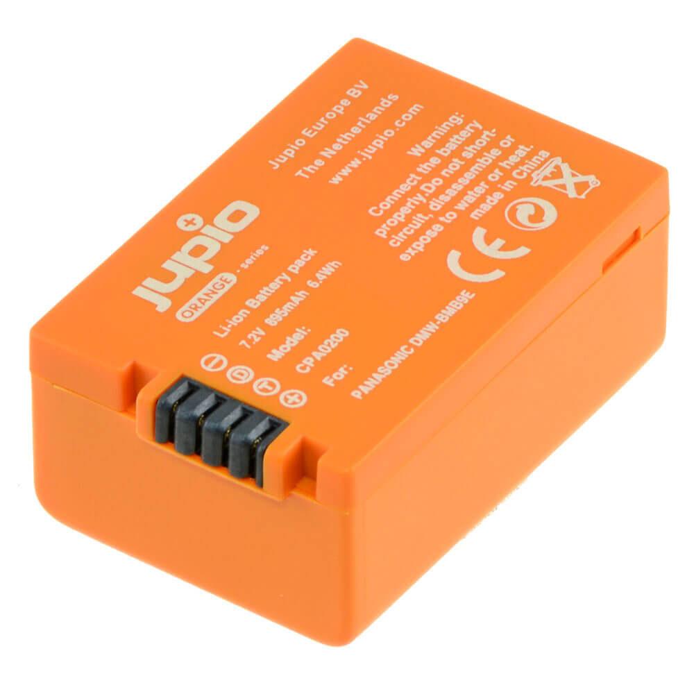 Panasonic DMW-BMB9e accu Orange Series (Merk Jupio)