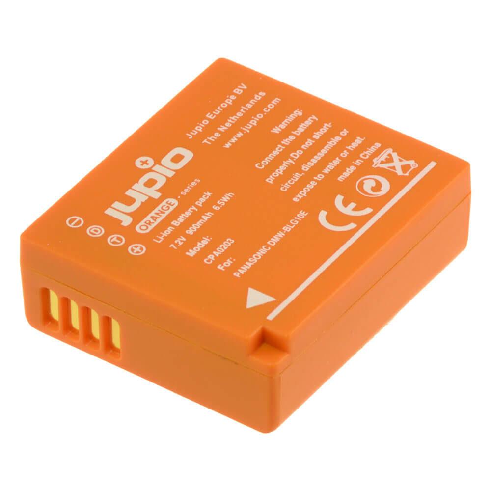 Panasonic DMW-BLG10E accu Orange Series (Merk Jupio)