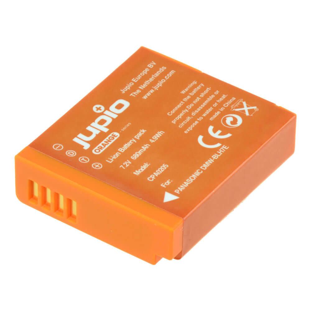Panasonic DMW-BLH7E accu Orange Series (Merk Jupio)