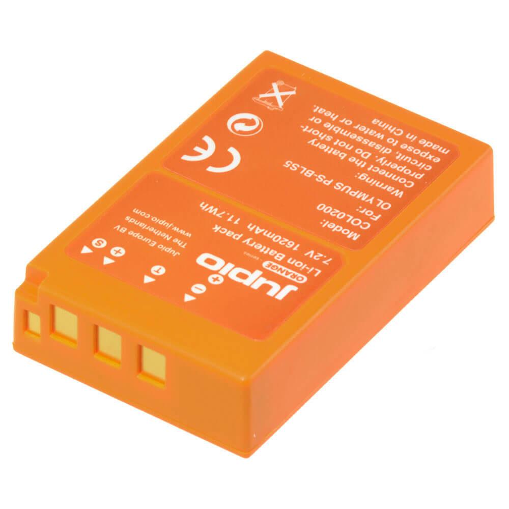 Olympus PS-BLS5 / PS-BLS50 Orange Series accu (Merk Jupio)