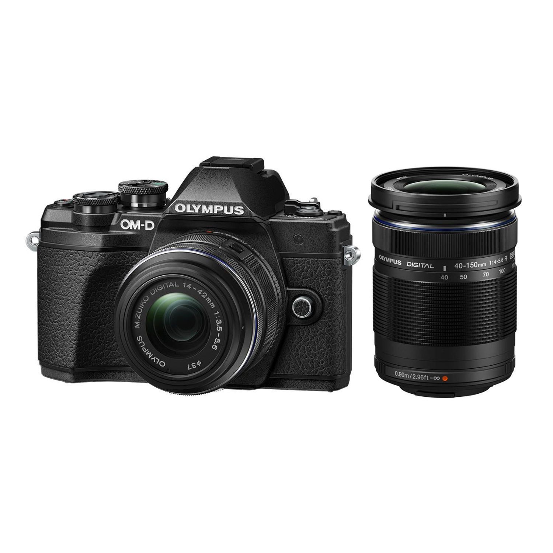 Olympus OM-D E-M10 Mark III systeemcamera Zwart + 14-42mm f/3.5-5.6 II R + 40-15 <br/>€ 699.00 <br/> <a href='https://www.cameranu.nl/fotografie/?tt=12190_474631_241358_&r=https%3A%2F%2Fwww.cameranu.nl%2Fnl%2Fp2249565%2Folympus-om-d-e-m10-mark-iii-systeemcamera-zwart-14-42mm-f-3-5-5-6-ii-r-40-150mm-f-4-0-5-6-r%3Fchannable%3De10841.MjI0OTU2NQ%26utm_campaign%3D%26utm_content%3DOM-D%2Bserie%26utm_source%3DTradetracker%26utm_medium%3Dcpc%26utm_term%3DDigitale%2Bcamera%26apos%3Bs' target='_blank'>naar de winkel</a>