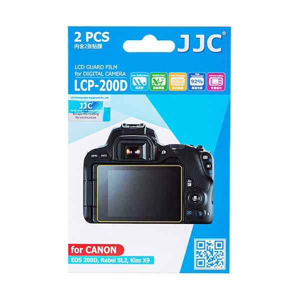 JJC LCP-200D Screenprotector