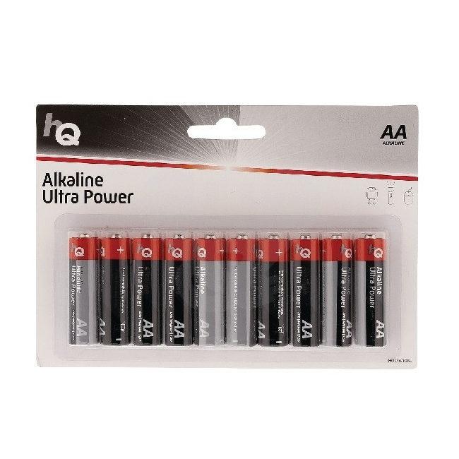 HQ Alkaline AA-batterijen - 10 stuks