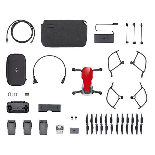 DJI Mavic Air Flame Red drone Fly More combo