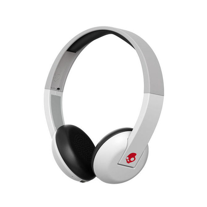 Skullcandy Uproar Bluetooth On-Ear koptelefoon White/Grey