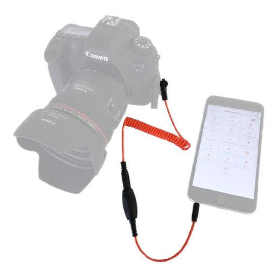 Miops Smartphone Remote MD-C2 met C2 kabel voor Canon