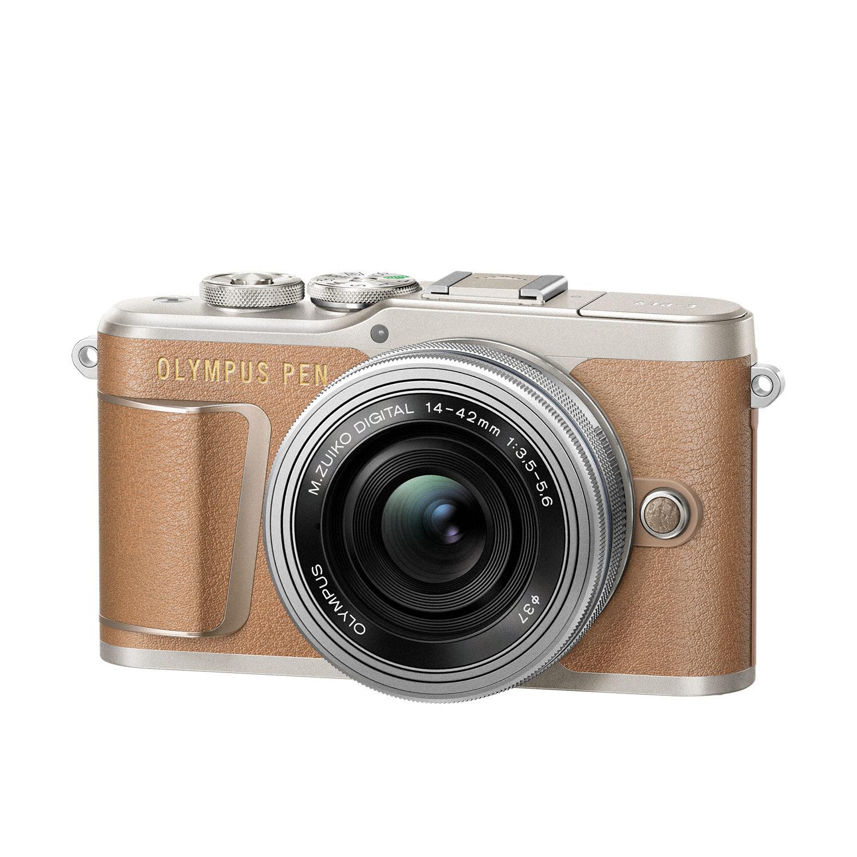 Olympus PEN E-PL9 systeemcamera Bruin + 14-42mm EZ <br/>€ 599.00 <br/> <a href='https://www.cameranu.nl/fotografie/?tt=12190_474631_241358_&r=https%3A%2F%2Fwww.cameranu.nl%2Fnl%2Fp2342425%2Folympus-pen-e-pl9-systeemcamera-bruin-14-42mm-ez%3Fchannable%3De10841.MjM0MjQyNQ%26utm_campaign%3D%26utm_content%3DPEN-serie%26utm_source%3DTradetracker%26utm_medium%3Dcpc%26utm_term%3DDigitale%2Bcamera%26apos%3Bs' target='_blank'>naar de winkel</a>