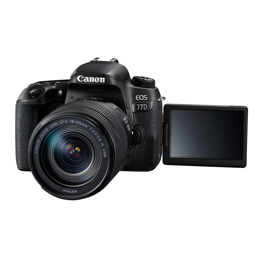 Canon EOS 77D DSLR + 18-135mm IS USM open-box <br/>€ 799.00 <br/> <a href='https://www.cameranu.nl/fotografie/?tt=12190_474631_241358_&r=https%3A%2F%2Fwww.cameranu.nl%2Fnl%2Fp2356255%2Fcanon-eos-77d-dslr-18-135mm-is-usm-open-box%3Fchannable%3De10841.MjM1NjI1NQ%26utm_campaign%3D%26utm_content%3DEOS%2Bspiegelreflex%26utm_source%3DTradetracker%26utm_medium%3Dcpc%26utm_term%3DDigitale%2Bcamera%26apos%3Bs' target='_blank'>naar de winkel</a>